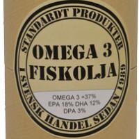 Standardt kosttillskott OMEGA3 FISKOLJA